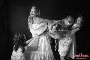 Nevěsta fotožurnalisticky
