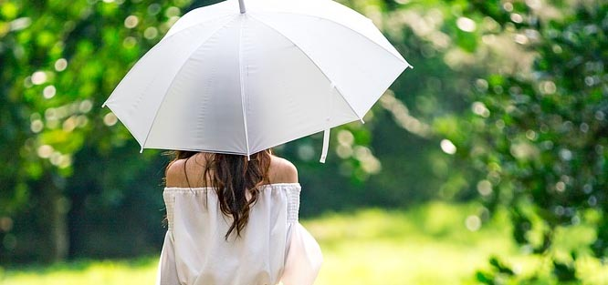 Svatba venku počasí