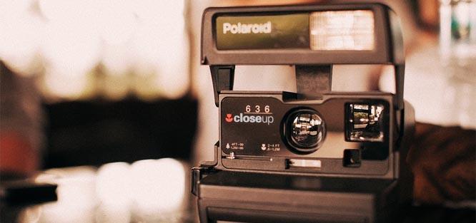 Zábava na svatbu - fotokoutek Polaroid
