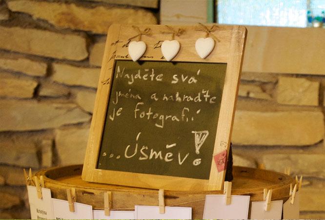 Informace pro svatební hosty