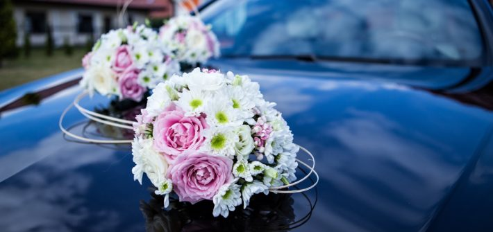 Jak ozdobit auto na svatbu