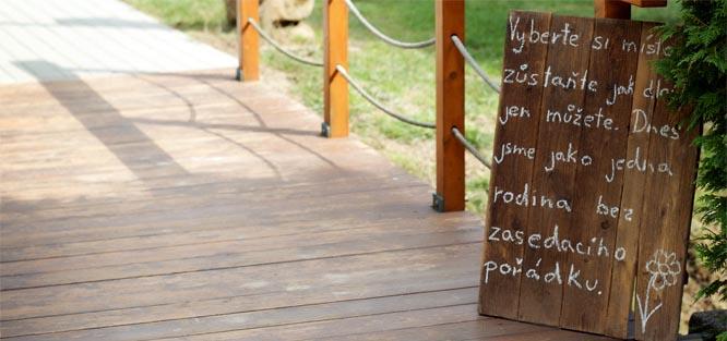 Pokyny pro svatební hosty