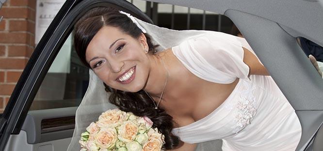 Svatební kolona - kdo s kým jede v autě