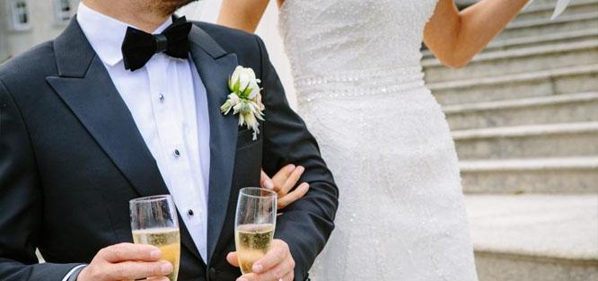 Svatební tradice a zvyky - přípitek