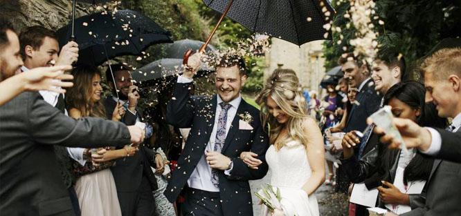 Svatební zvyky a tradice - špalír