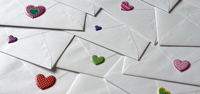 Pozvánka na svatbu - dopisy