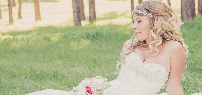 Svatební ozdoby do vlasů - čelenka
