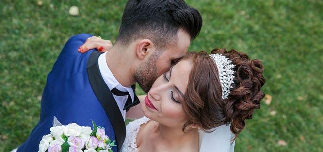 Svatební ozdoby do vlasů - korunka