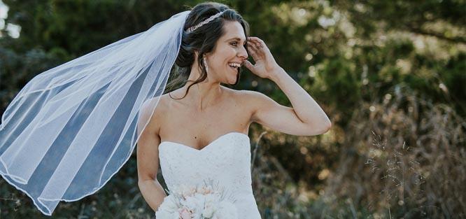 Svatební ozdoby do vlasů - závoj
