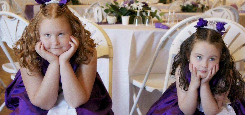 Zábava pro děti na svatbě