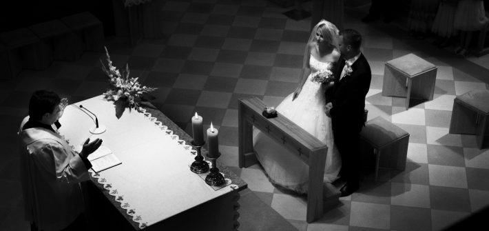 Církevní svatba