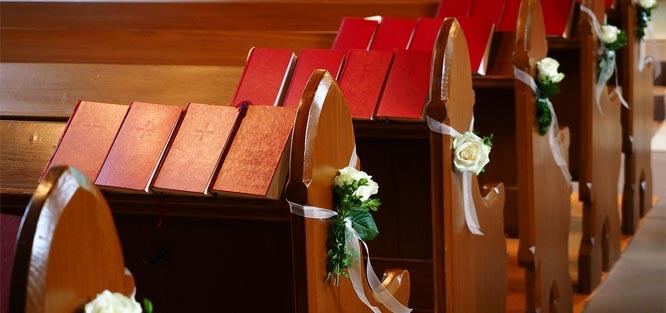 Církevní svatební obřad