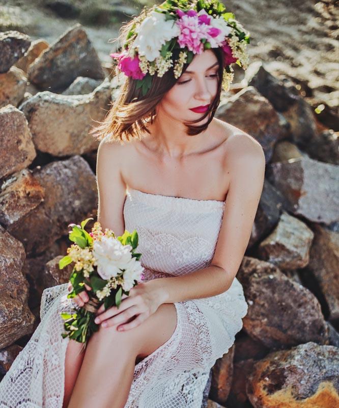 Jak vybrat svatební šaty - krajkové