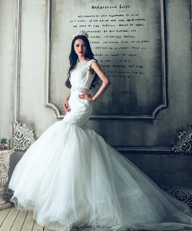 848edd54408 Jak vybrat svatební šaty - mořská panna