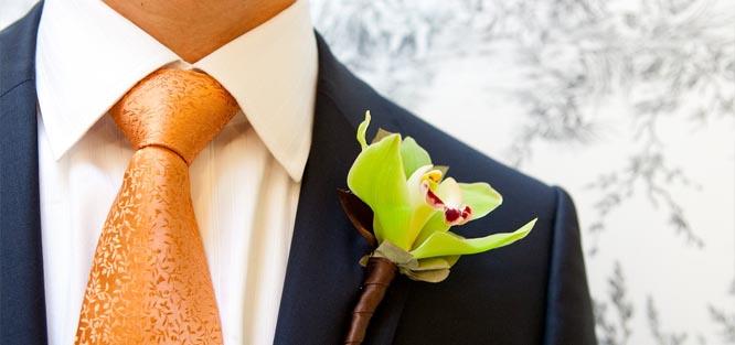 Pánský oblek na svatbu