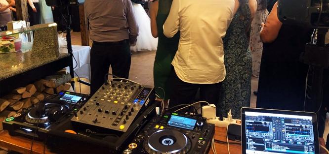 Svatební DJ - vybavení