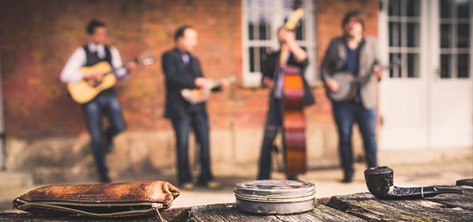Živá hudba na svatbu