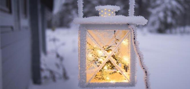Zimní svatba - atmosféra