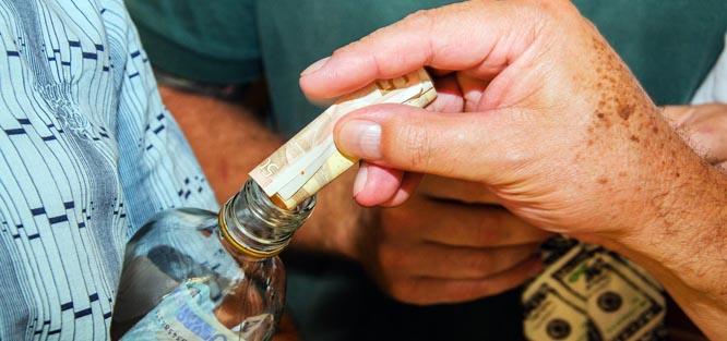 Peníze jako svatební dary