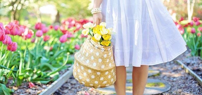 Svatba na jaře - barvy květin