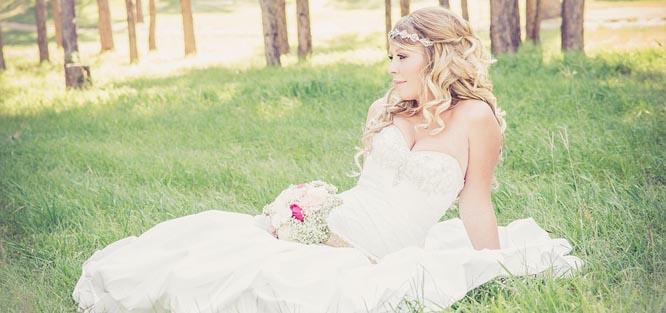Letní svatba - šaty