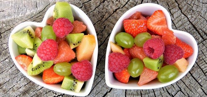 Svatba v létě - ovoce
