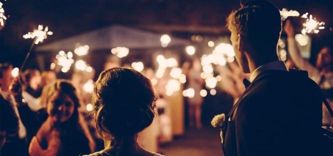 Svatba v létě - párty