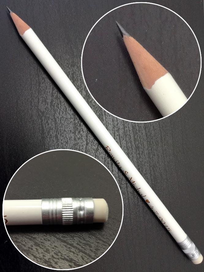 Svatební tužky s vlastním textem