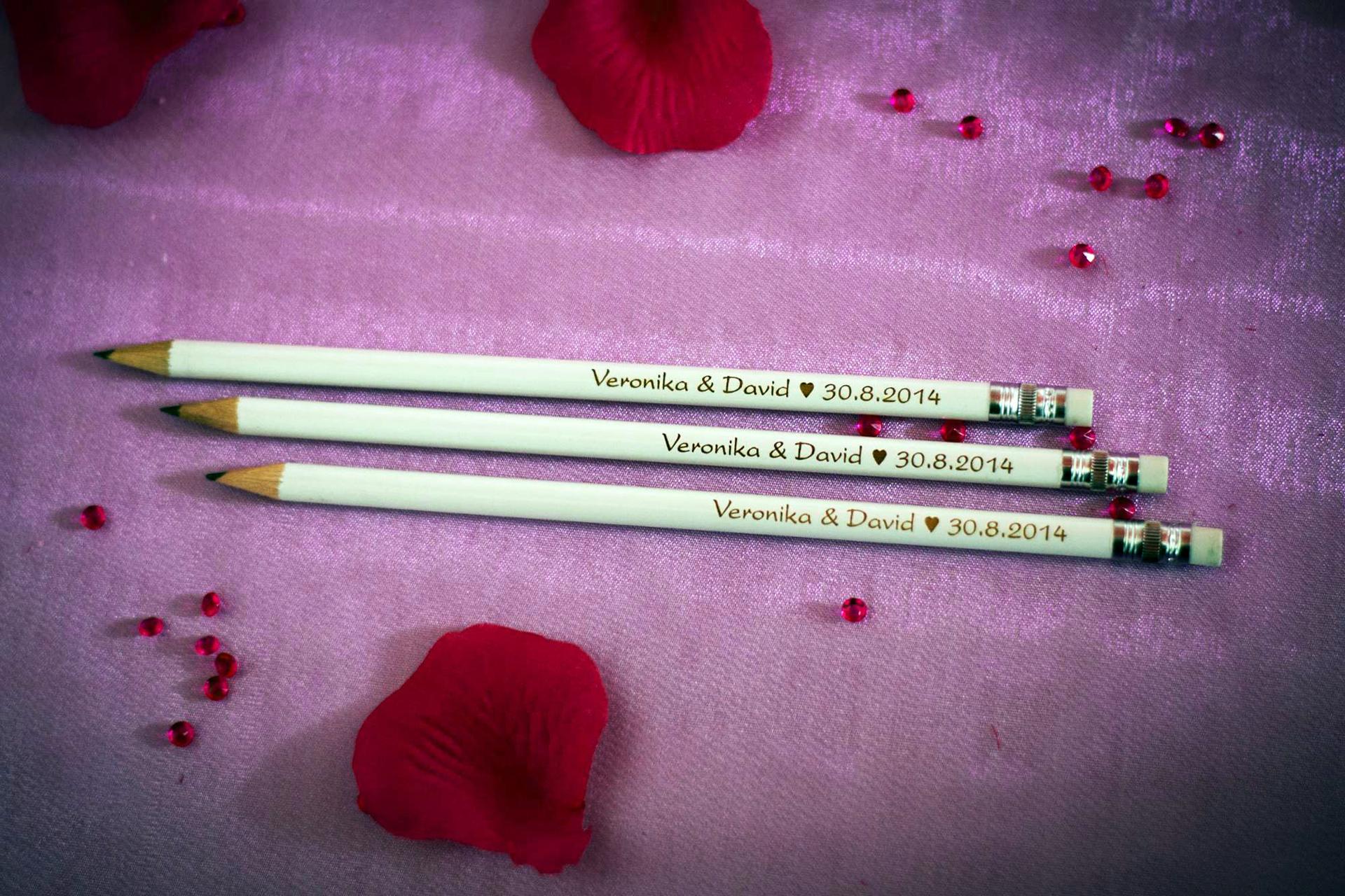 Svatební tužky