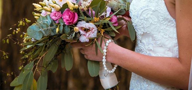 Kvality svatební kytice