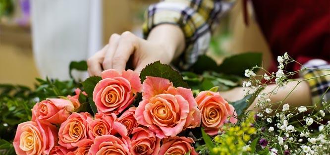 Skladba svatební kytice