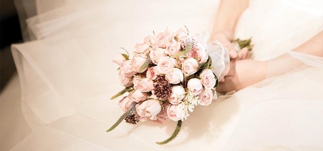 Profesionální svatební kytice