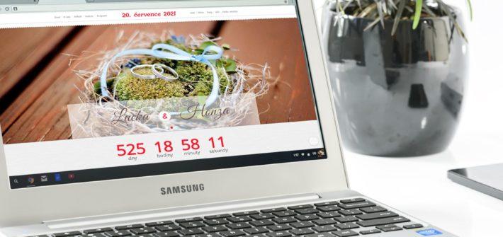 Svatební web zdarma