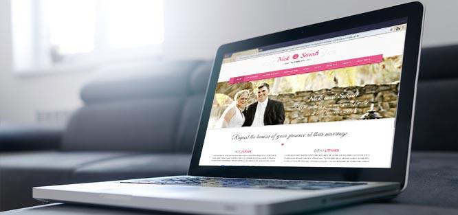 Svatební web zdarma - inspirace