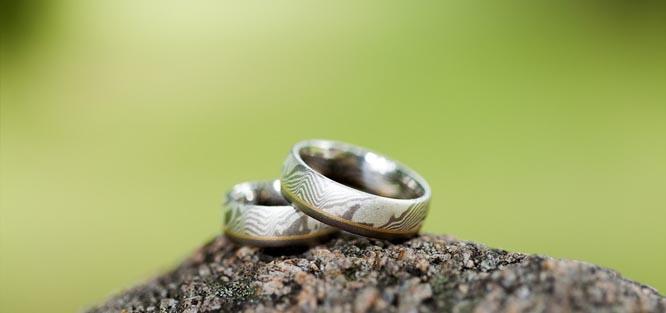 Materiály snubních prstenů
