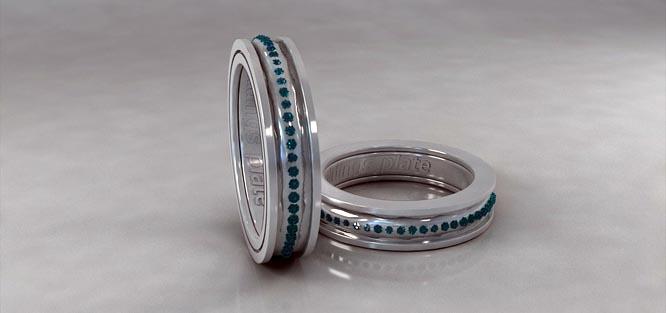 Snubní prstýnky ze stříbra