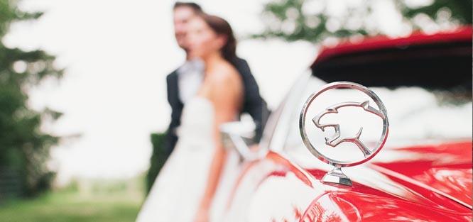 Svatební etiketa - auta