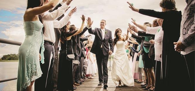 Svatební etiketa - obřad
