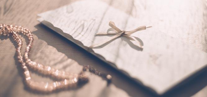 Svatební etiketa - pozvánka