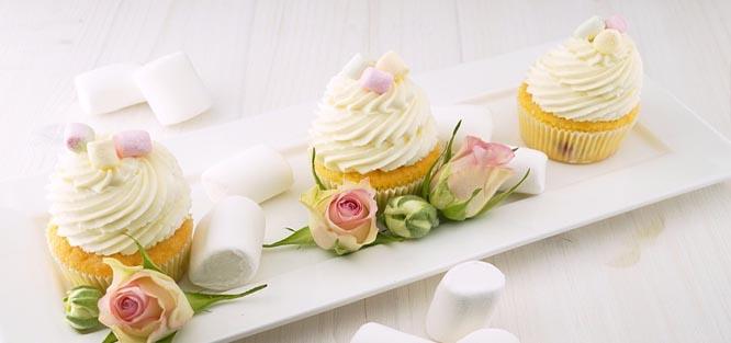Svatební menu dezert