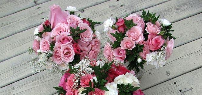 Kytice pro maminky na svatbu