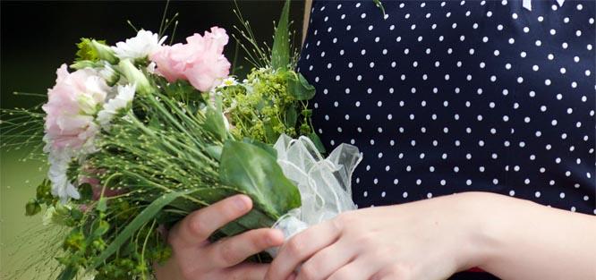 Svatební kytice pro svědkyni