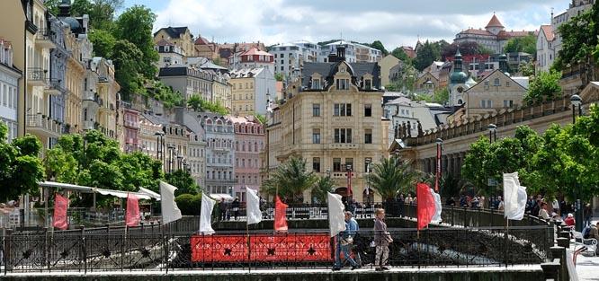 Svatební cesta v Čechách