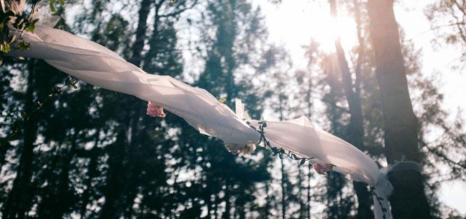 Jak vyrobit svatební bránu