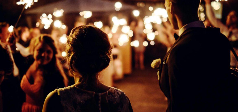 Svatební prskavky