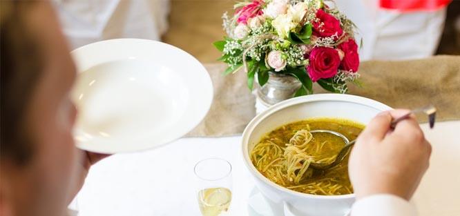 Svatební polévková lžíce