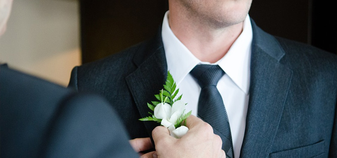 Povinnosti ženicha ve svatební den