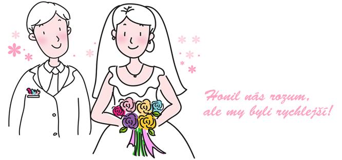 Vtipné svatební oznámení - text