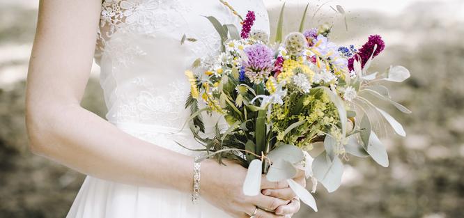 Boho styl svatby