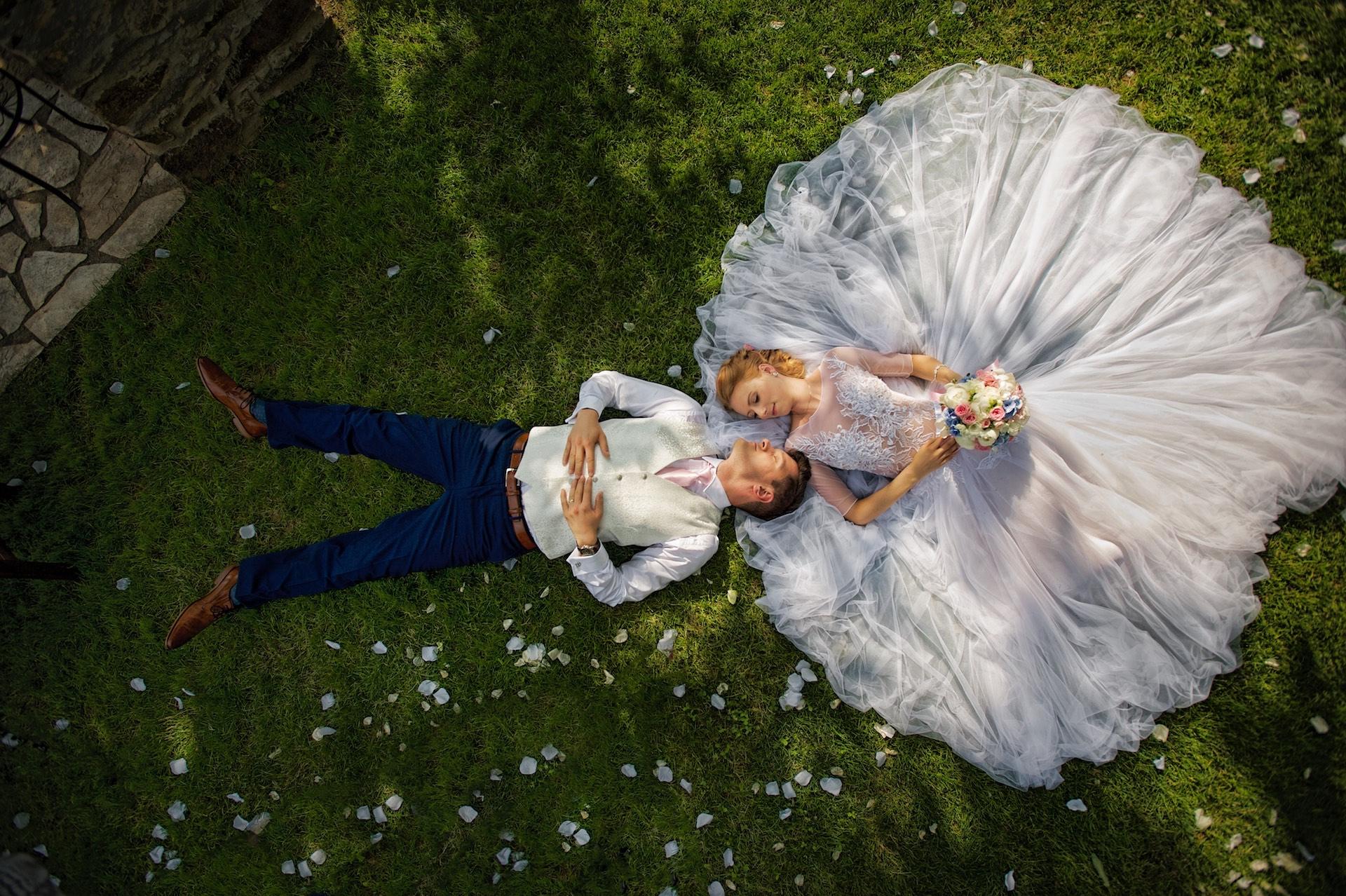 Originální svatební fotografie